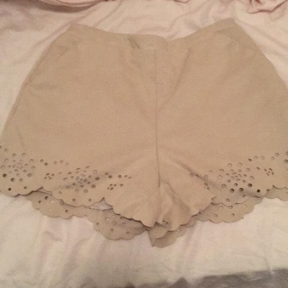 LC Lauren Conrad Pants - Suede shorts